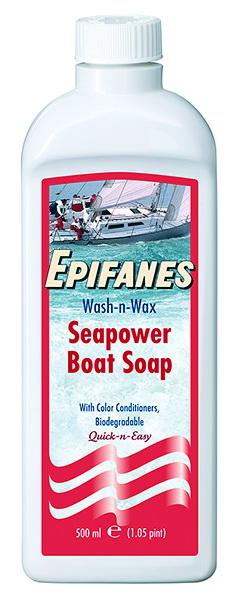 SEAPOWER WASH & WAX BOAT SOAP