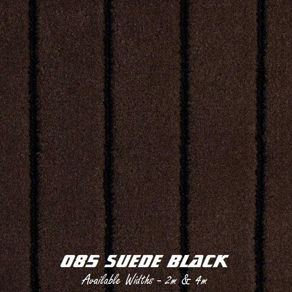 TEAK - 085 Suede Black