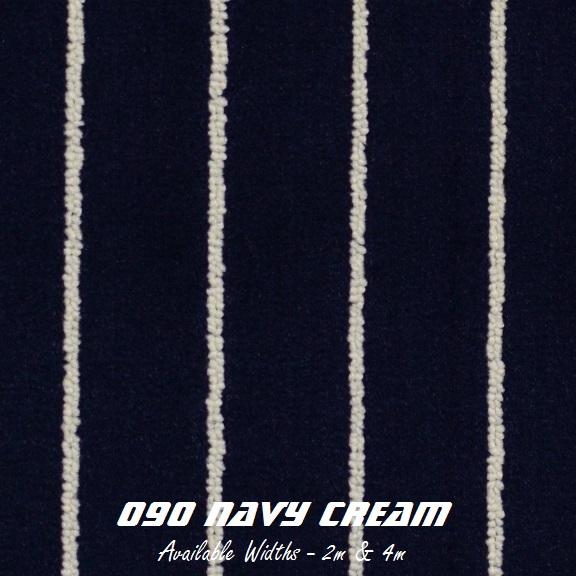 TEAK - 090 Navy Cream