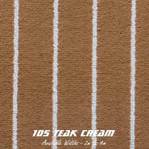 TEAK - 105 Teak Cream